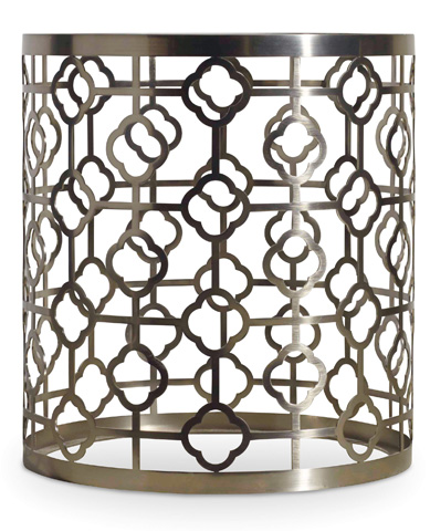 Hooker Furniture - Skyline Round End Table with Glass Top - 5536-80116