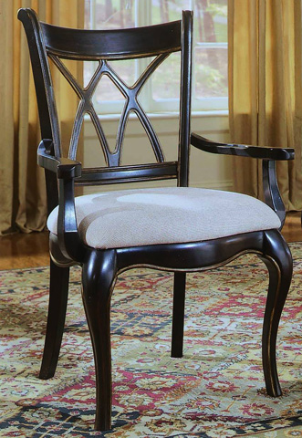 Image of Preston Ridge X Back Arm Chair