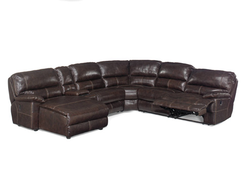 Image of Espresso Six Piece Sectional