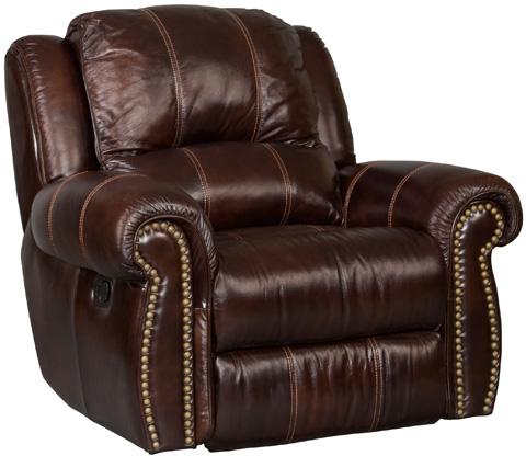 Hooker Furniture - Saddle Brown Recliner - SS611-PWR-068