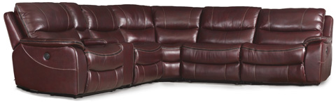 Image of Six Piece Power Sectional