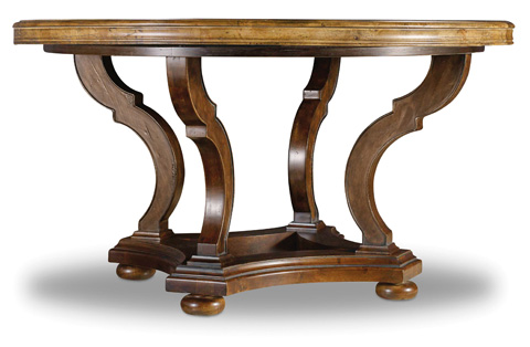 Hooker Furniture - Archivist Round Dining Table - 5447-75203-TOFFEE