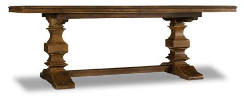 Hooker Furniture - Archivist Trestle Dining Table - 5447-75206