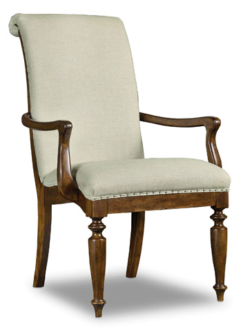 Image of Archivist Upholstered Arm Chair