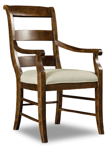 Hooker Furniture - Archivist Ladderback Arm Chair - 5447-75700
