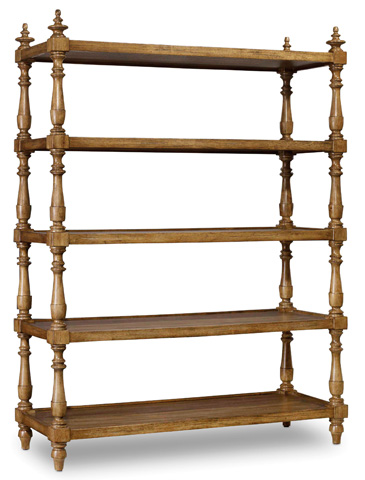 Hooker Furniture - Archivist Accent Etagere - 5447-85003A-TOFFEE