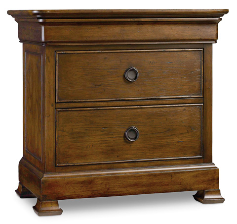 Image of Archivist Three-Drawer Nightstand