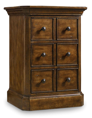 Hooker Furniture - Archivist Three-Drawer Telephone Table - 5447-90317