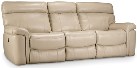 Hooker Furniture - Taupe Power Motion Sofa - SS620-P3-082