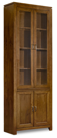 Image of Viewpoint Wall Curio Cabinet