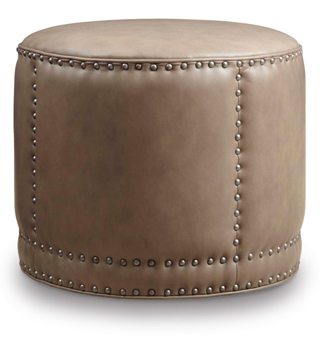 Image of Aspen Lenado Round Cocktail Ottoman