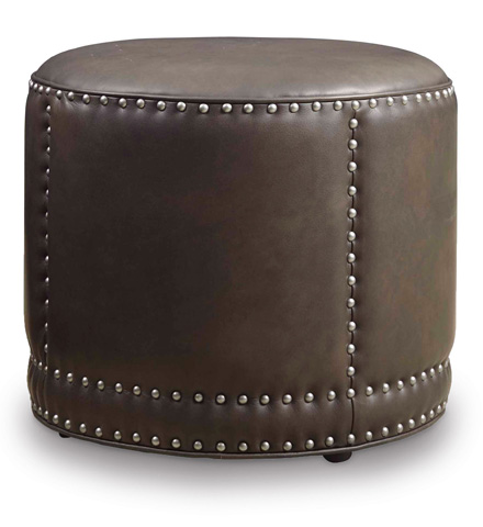 Image of Aspen Durant Round Cocktail Ottoman