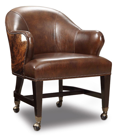 Image of Isadora Coffee and Dark Brindle Game Chair