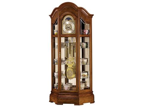 Howard Miller Clock Co. - Majestic Floor Clock - 610-940