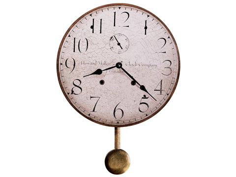 Howard Miller Clock Co. - Original Howard Miller II Wall Clock - 620-313