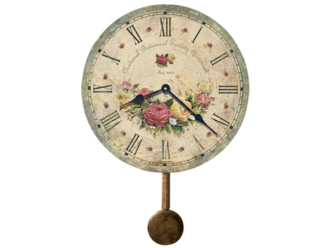 Howard Miller Clock Co. - Savannah Botanical Society VI Wall Clock - 620-401