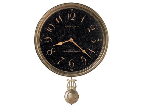 Howard Miller Clock Co. - Paris Night Wall Clock - 620-449