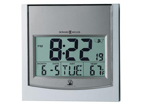 Howard Miller Clock Co. - Techtime I Table Clock - 625-235
