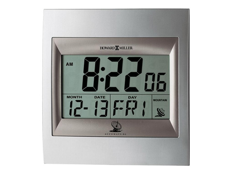 Howard Miller Clock Co. - Techtime II Table Clock - 625-236