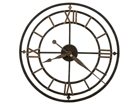 Howard Miller Clock Co. - York Station Wall Clock - 625-299