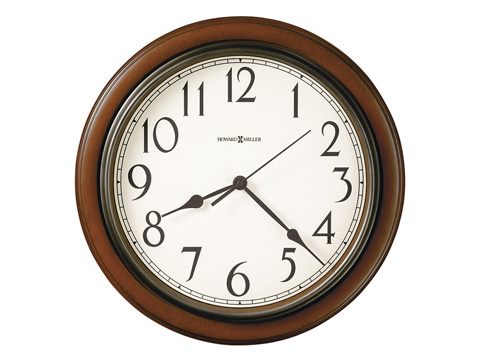 Howard Miller Clock Co. - Kalvin Wall Clock - 625-418