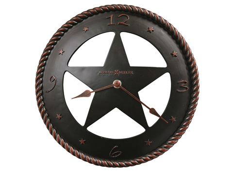 Howard Miller Clock Co. - Maverick Wall Clock - 625-445