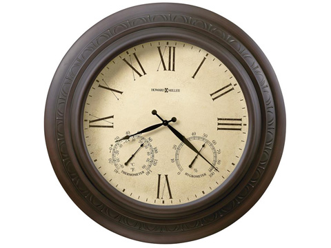 Howard Miller Clock Co. - Copper Harbor Wall Clock - 625-464