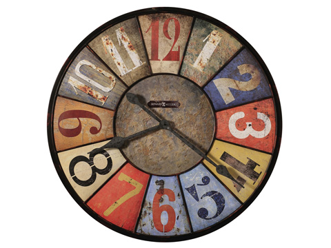 Howard Miller Clock Co. - County Line Wall Clock - 625-547