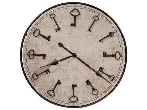 Howard Miller Clock Co. - Cle Du Ville Wall Clock - 625-579