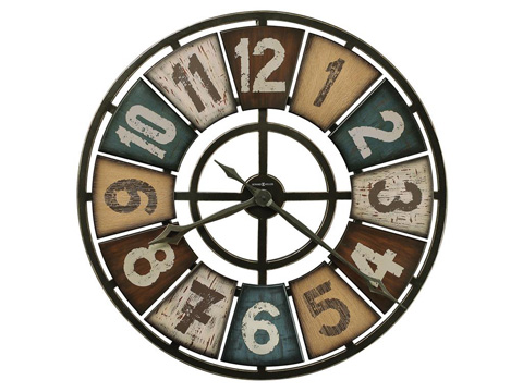 Howard Miller Clock Co. - Prairie Ridge Wall Clock - 625-580