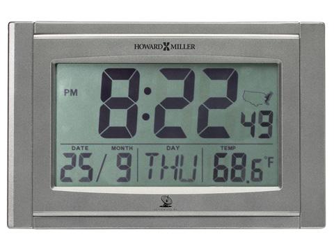 Howard Miller Clock Co. - TechTime IV Wall Clock - 625-590