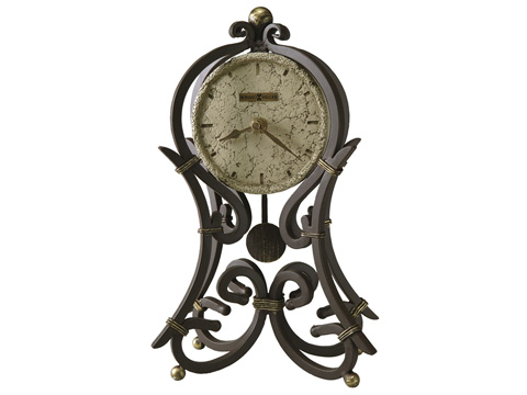 Howard Miller Clock Co. - Vercelli Mantel Table Clock - 635-141
