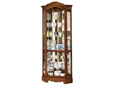 Howard Miller Clock Co. - Jamestown II Display Cabinet - 680-250