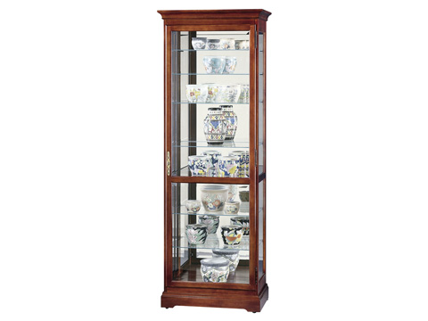 Howard Miller Clock Co. - Chesterfield Display Cabinet - 680-286