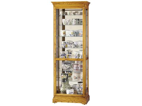 Howard Miller Clock Co. - Chesterfield II Display Cabinet - 680-288