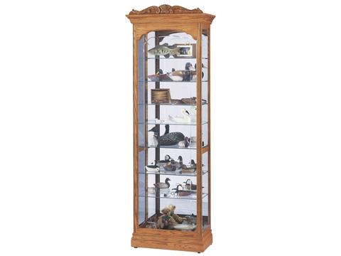 Howard Miller Clock Co. - Cumberland Display Cabinet - 680-344