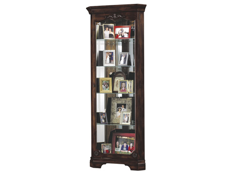 Howard Miller Clock Co. - Constance Display Cabinet - 680-404