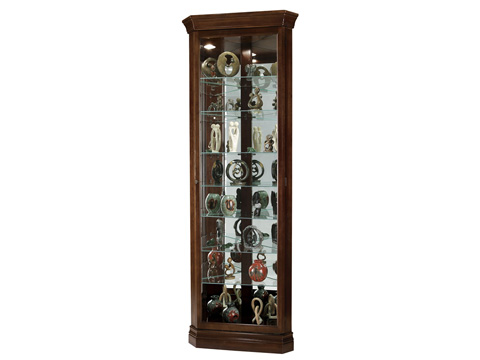 Howard Miller Clock Co. - Drake Display Cabinet - 680-483