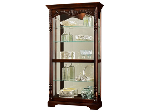 Howard Miller Clock Co. - Felicia Display Cabinet - 680-497