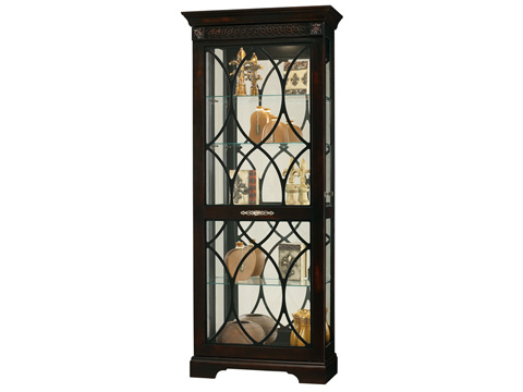 Howard Miller Clock Co. - Roslyn Display Cabinet - 680-499