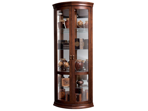 Howard Miller Clock Co. - Chancellor Display Cabinet - 680-503