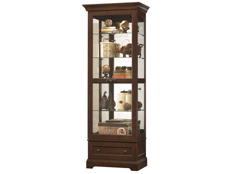 Howard Miller Clock Co. - Manford Display Cabinet - 680-523