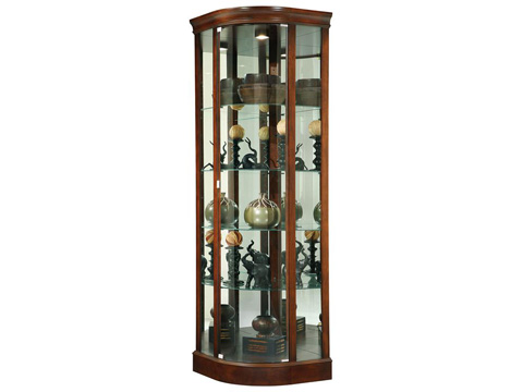 Howard Miller Clock Co. - Marlowe Display Cabinet - 680-529