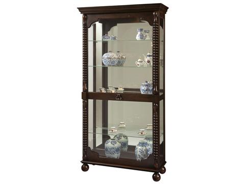 Howard Miller Clock Co. - Canyon Display Cabinet - 680-541