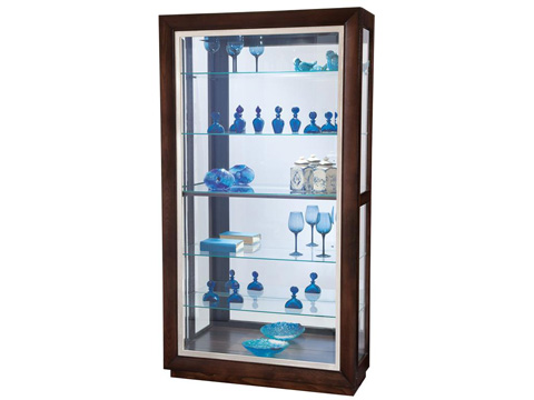 Howard Miller Clock Co. - Watkins Display Cabinet - 680-553