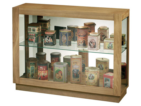 Howard Miller Clock Co. - Marsh Bay  Display Cabinet - 680-586