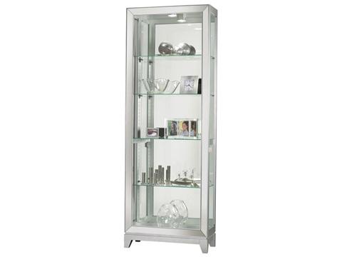 Howard Miller Clock Co. - Shayne Display Cabinet - 680-590