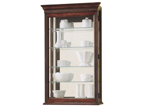 Howard Miller Clock Co. - Edmonton Display Cabinet - 685-104