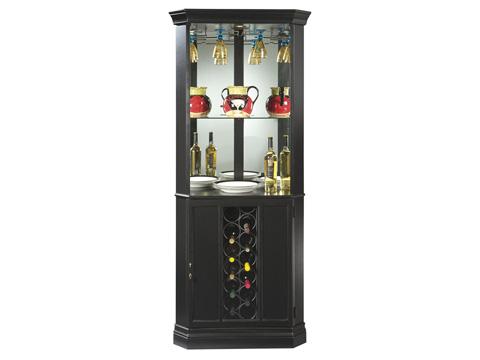 Howard Miller Clock Co. - Piedmont II Wine and Bar Cabinet - 690-003