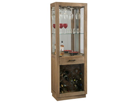 Howard Miller Clock Co. - Sienna Bay Wine and Bar Cabinet - 690-030